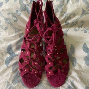 Pink Open-toed Heels from Aerosoles